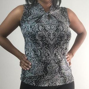 Floral Business Casual  Top